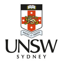 The University of New South Wales -UNSW